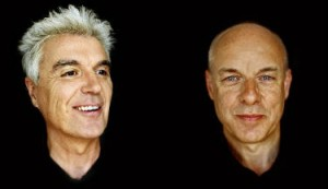 David Byrne en Brian Eno