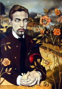 Rainer Maria Rilke geportretteerd