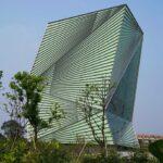 Duurzaam gebouw in Ningbo, China