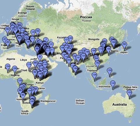 waterconflicten wereldwijd