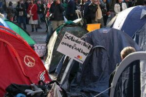 Occupy, Beursplein 16 oktober 2011
