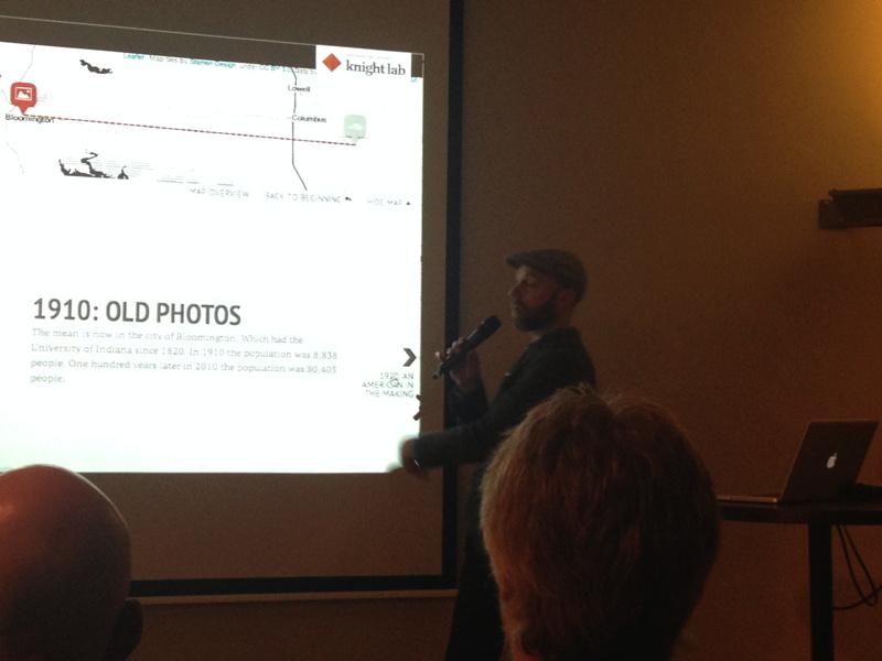 Zach Wise te gast bij NVJ (17 januari 2014, Pakhuis de Zwijger)