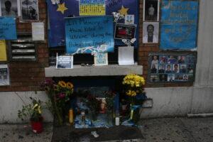 Oekraïns altaar in East Village