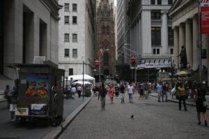 Wall Street is nu voor de toeristen