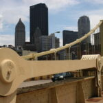 De Andy Warhol Bridge in Pittsburgh