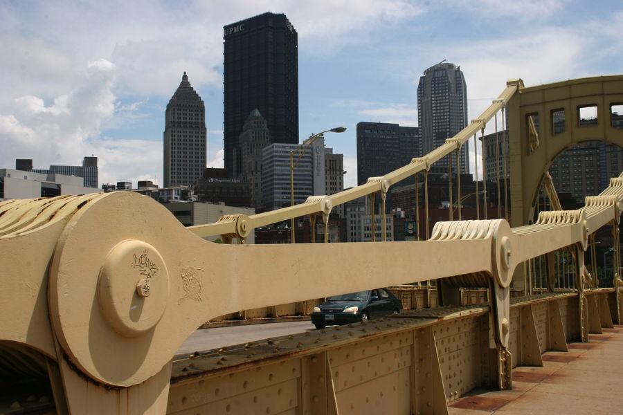 Het staal en de kunst in Pittsburgh