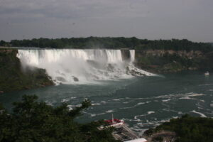 De Niagara Falls aan de Amerikaanse kant