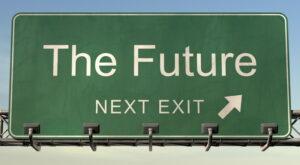 afslag naar de toekomst
