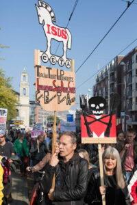 Tegen TTIP en tegen ISDS