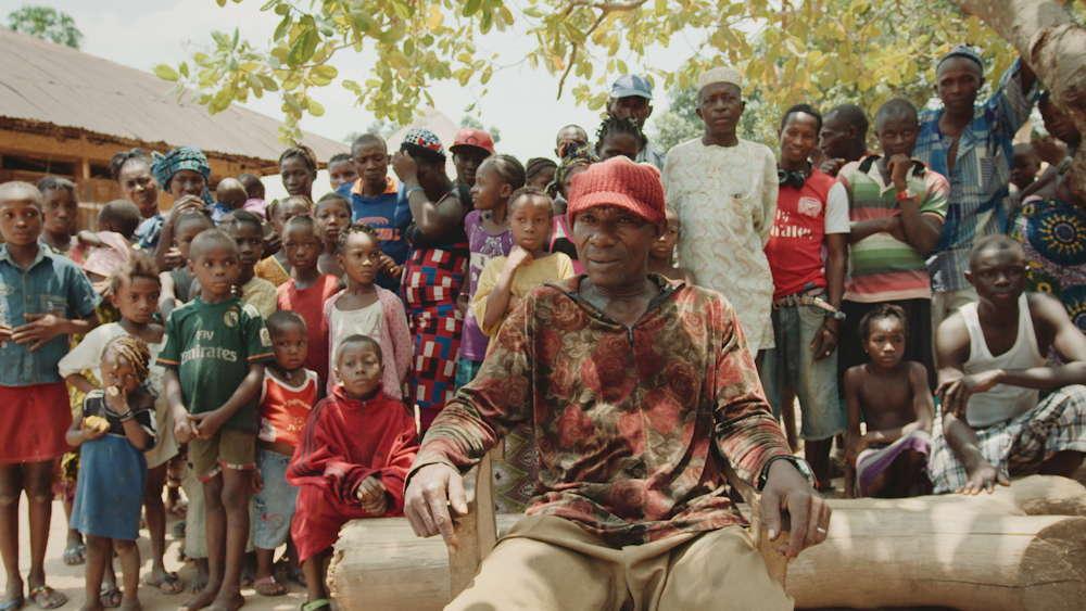 Chief lbrahiman in Sierra Leone