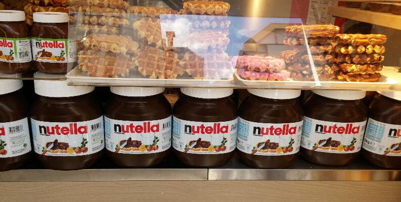 Zanikt de modder die Nutella heet