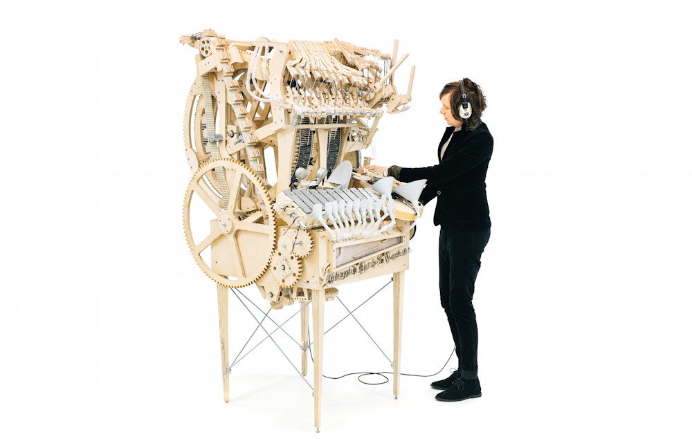 De Marble Machine bespeelt door Martin Molin