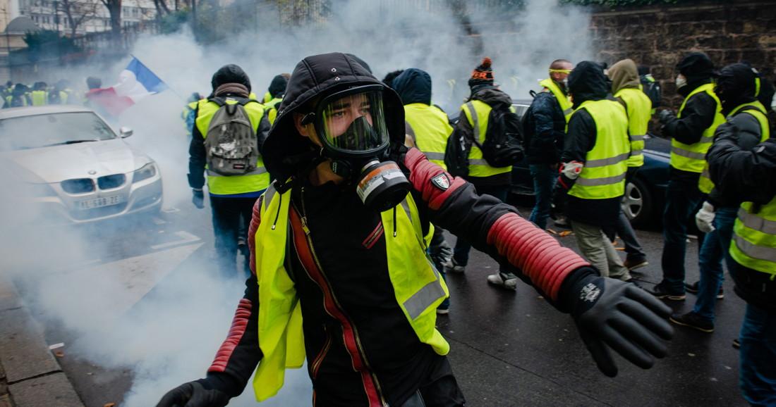 De anonieme opstand van de gele hesjes